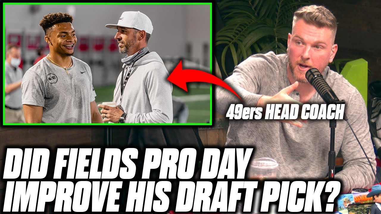 Download Pat McAfee Reacts To Justin Fields' 2nd Pro Day