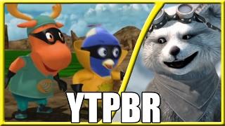 #REACT - YTPBR - Os Backyardigans salvam o dia !!! [+12] (Canal fazessajoça)
