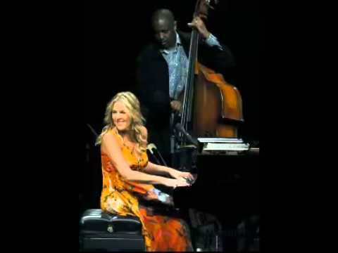 It was a beautiful night in august- you can depend on me- Diana Krall