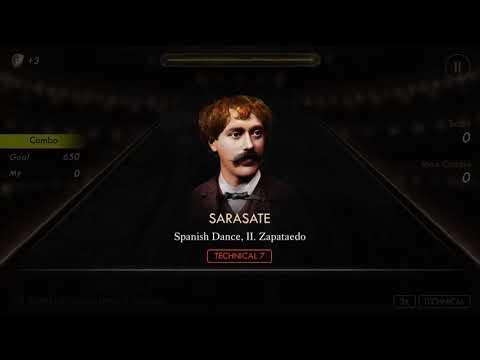 Pianista: Pablo de Sarasate: Spanish Dance II. Zapateado