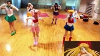 セーラームーン体操第一を実践してみた(Sailormoon radio gymnastics)