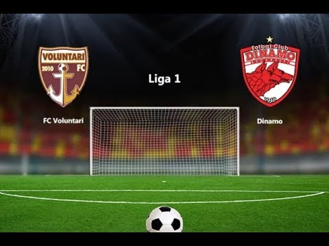 Fc Voluntari vs Fc Dinamo Bucuresti 2-4 HD Liga 1 Betano Etapa a 5-a Play-Out (13.04.2018)