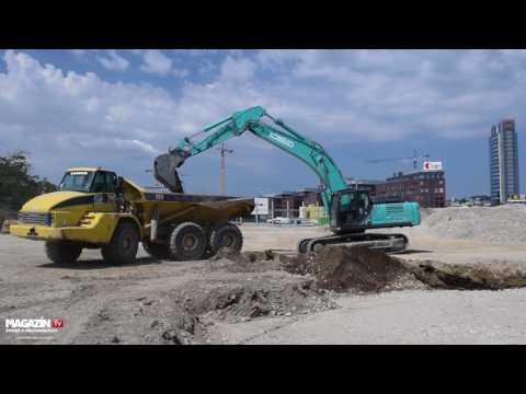"""NEW"" KOBELCO SK350NLC10 crawler excavator"