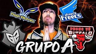 TENSIÓN HASTA EL FINAL!! Resumen GRUPO A (G2, AFs, FW y PVB) Worlds 2018