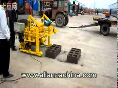 Maquina para fabricar ladrillo de cemento movible youtube - Maquinaria para relojes de pared ...