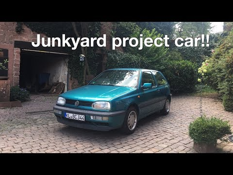 I BOUGHT MY FIRST JUNKYARD PROJECT CAR!!