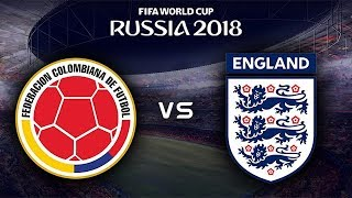 FIFA World Cup 2018 - Colombia vs England - 03/07/2018