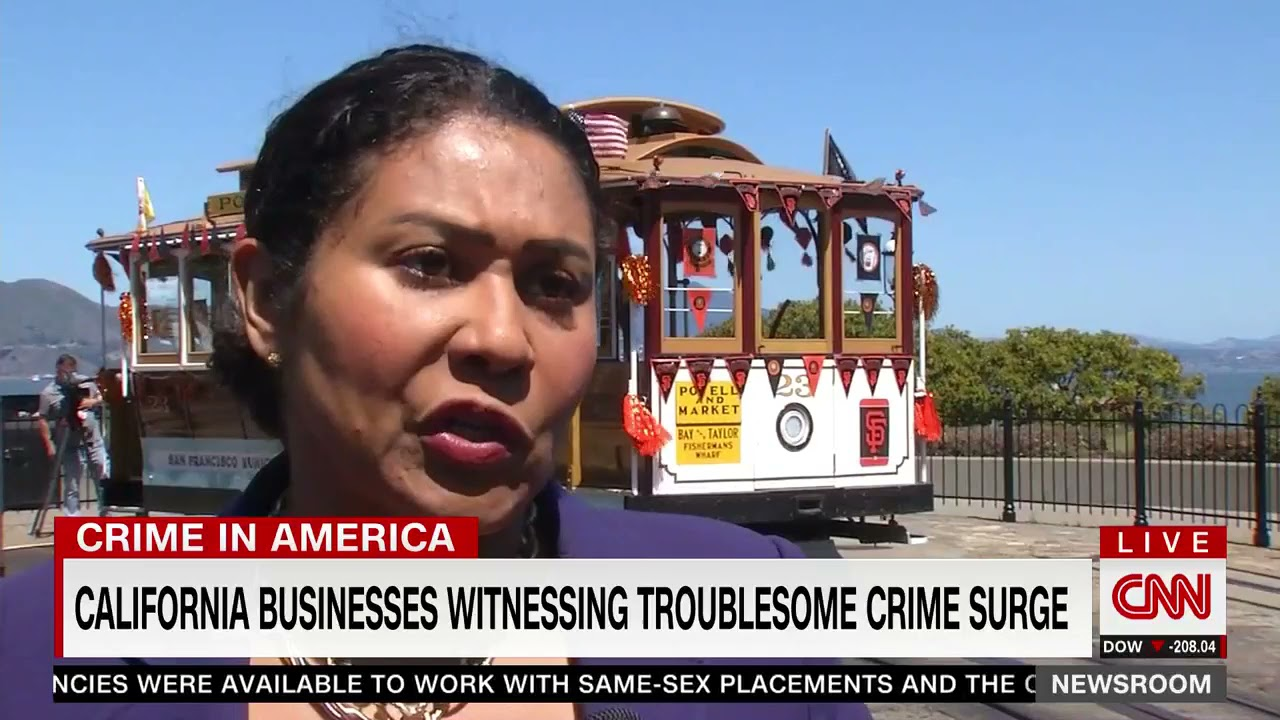 """""""We Need More Police Officers"""": CNN Reports On """"Disturbing"""" Rise In Crime In San Francisco"""