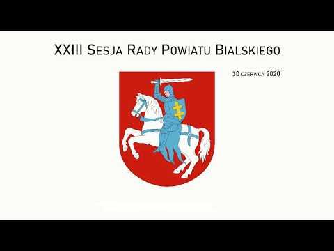 XXIII Sesja Rady Powiatu Bialskiego