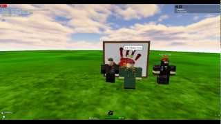 Discours de roblox Red Army