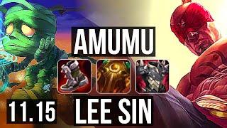 AMUMU vs LEE SIN (JUNGLE) | Ra…