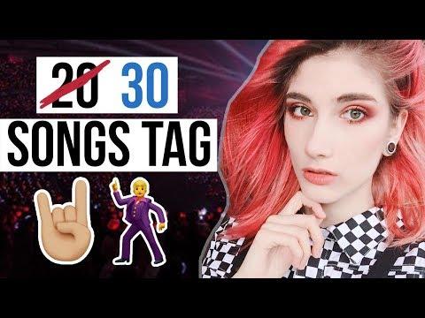 30 SONGS TAG! ♡ Mejor que el de 20 | Danna Alquati