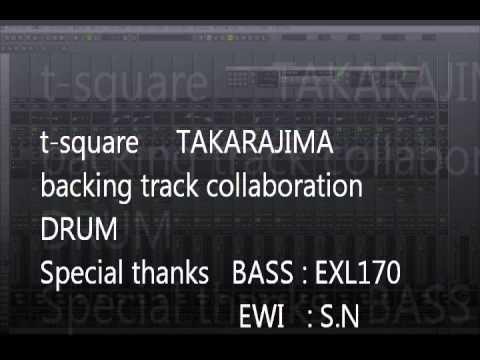 t square takarajima backing track drum
