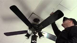 Fix sagging ceiling tiles No decapitation!! Real time