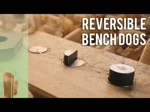 How To Make Reversible Bench Dogs Youtube
