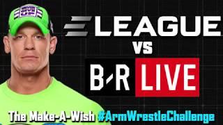ELEAGUE vs Bleacher Report Live | Arm Wrestle Challenge