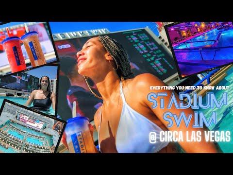 Stadium Swim Pool Amphitheater @ Circa Las Vegas, Why No Other Pool Matters!