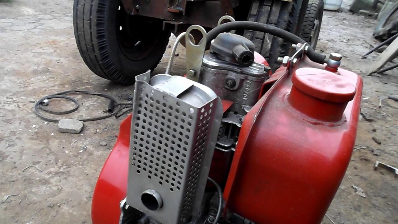Дизельный двигатель для мини-трактора . !!!!! ДМ-10.Diesel engine for mini tractor . !!!!! DM-10.