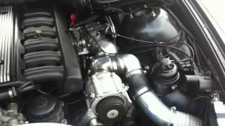 BMW E39, ROTREX SUPERCHARGED. Tuned by Okkie