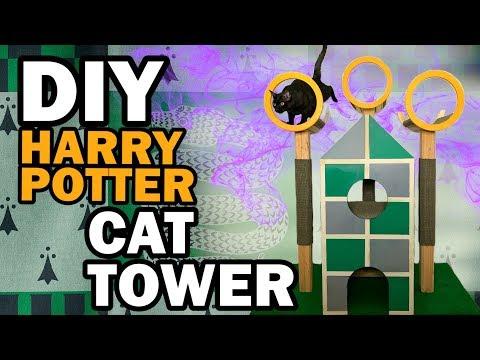 😺 DIY Harry Potter Cat Tree