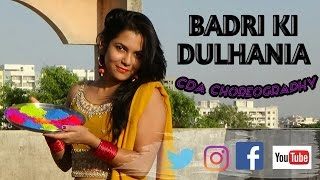 Badri ki dulhania | CDA - ConfiDance Academy | Bollyhop dance choreography | HOLI SPECIAL