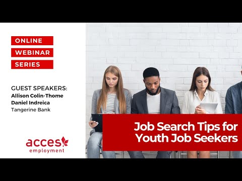 Learn from Tangerine Recruiters! Job Search Tips for Youth Job Seekers