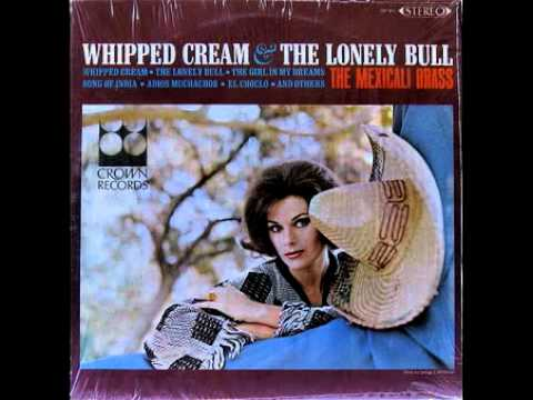 The Mexicali Brass: Whipped Cream (Crown Records)