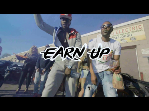 Black Sage aka Billi D'Kid - Earn Up / 416 Side ft. Ranko & Glaze Money