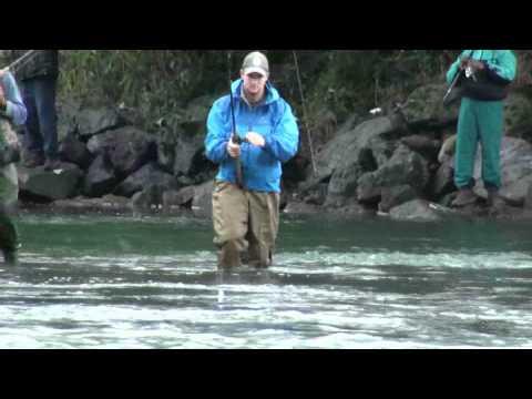 Fishing At Vedder River, Chilliwack, BC