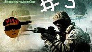 прохождение игры Call of Duty 4 Modern Warfare # 3 (нигерский реп)