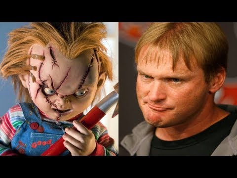 "Jon Gruden aka ""CHUCKY"": 10 Facts You Probably Didn't Know"