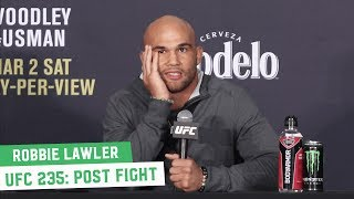 "Robbie Lawler on Ben Askren Controversial Finish: ""S**t Happens"" 