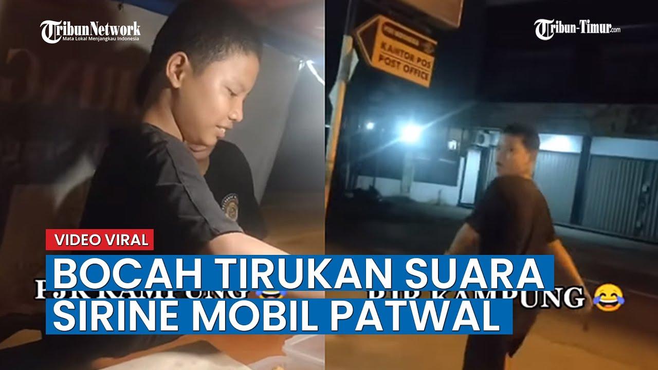 Viral, Video Bocah SMP Asal Bekasi Tirukan Suara Sirine Mobil Patwal Polisi, Ini Ceritanya