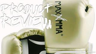 MaxxMMA Pro Style Boxing Kickboxing Muay Thai Training Gloves - Product Review