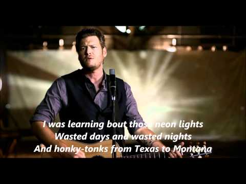Blake Shelton Good Country Song with Lyrics