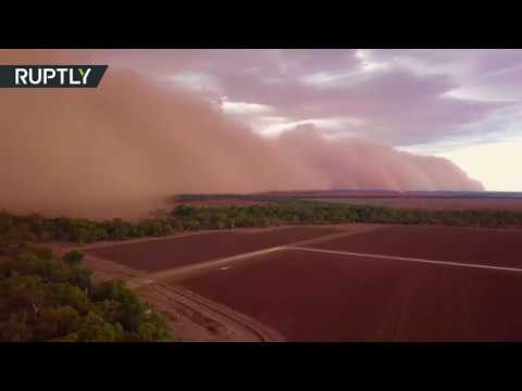 Planet Earth turning into Mars: Red sand storm hits New South Wales
