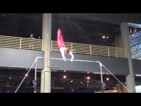 Christopher Mooney - High Bar - 2010 Winter Cup - ...