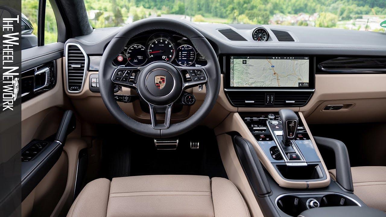 2020 Porsche Cayenne S Coupe Interior