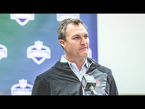 John Lynch Breaks Down the Quarterback Prospects