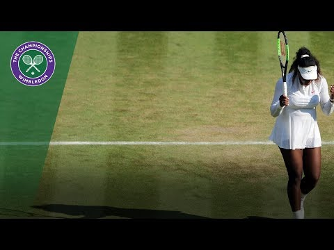 Serena Williams vs Kristina Mladenovic 3R Highlights | Wimbledon 2018