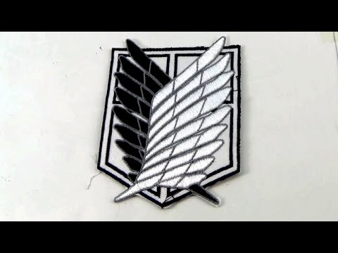 Anime Attack On Titan Survey Corps Arm Badge Https Youtu Be