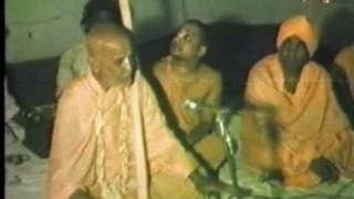 Srila BV Puri Gosvami Maharaj preach in Berharmpur early 80s part2
