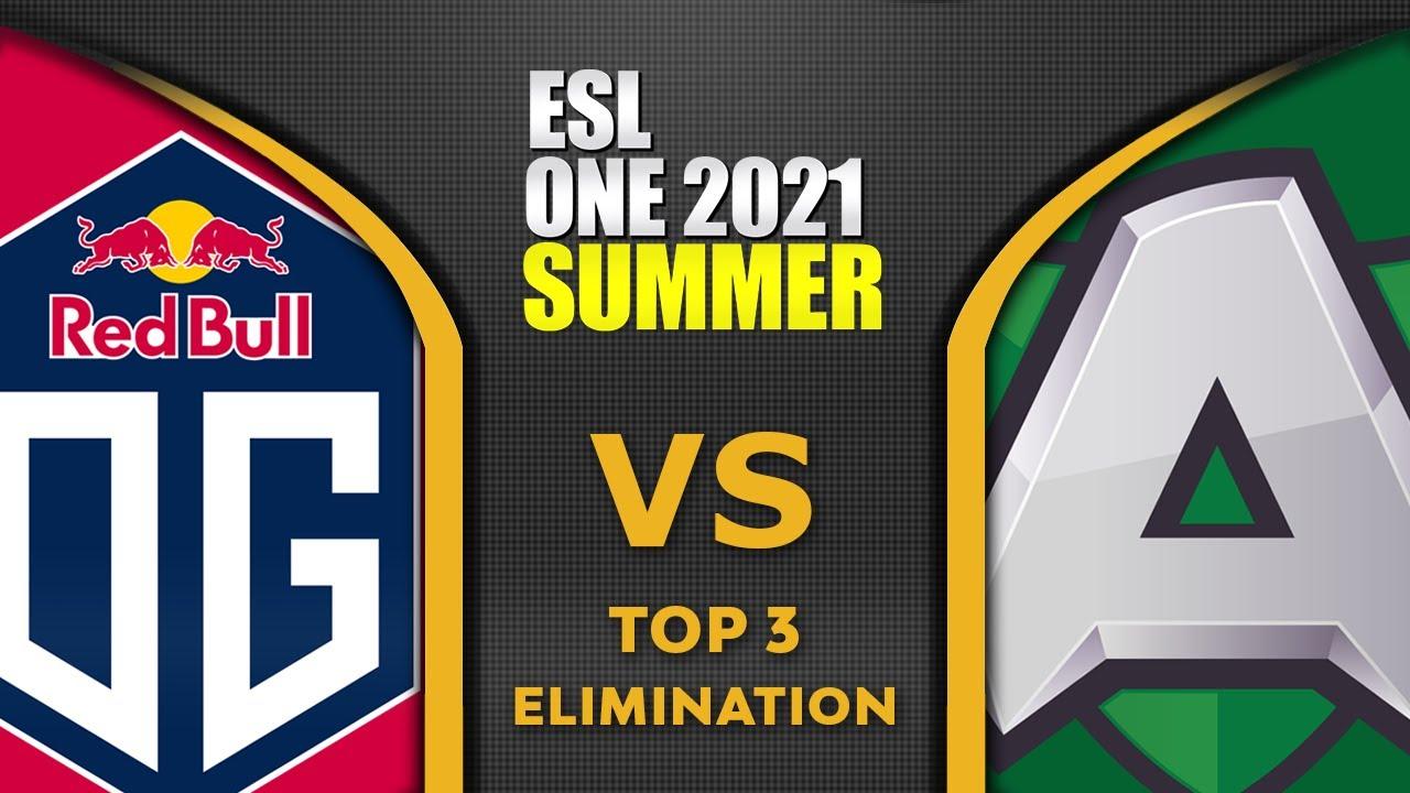 OG vs ALLIANCE - GAME OF THE DAY! - ESL ONE SUMMER 2021 Dota 2 Highlights