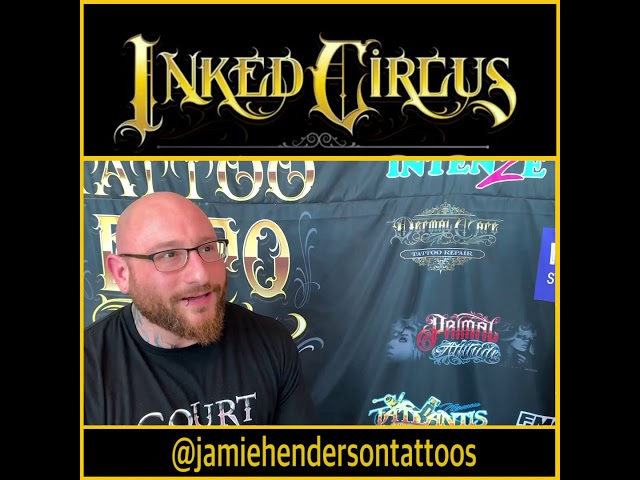 Jamie Henderson Interview during @inkedcircusexpos