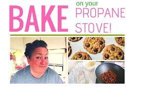 BAKE all kinds of stuff on your RV PROPANE STOVE! Cooking in your RV or Camper is ...