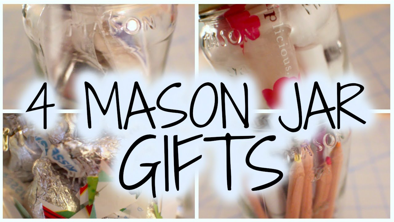 Diy Mason Jar Gifts Youtube