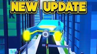 NEW BLADE VEHICLE UPDATE & MORE! (ROBLOX Jailbreak)