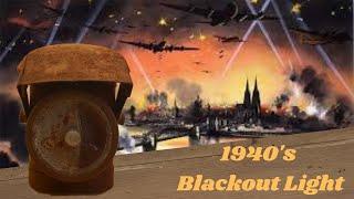 Beautiful 1940's Bike Lamp Restoration