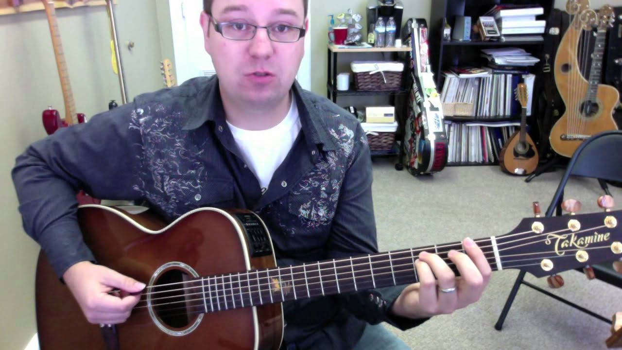 Power Chords On Acoustic Guitar Free Lesson Youtube