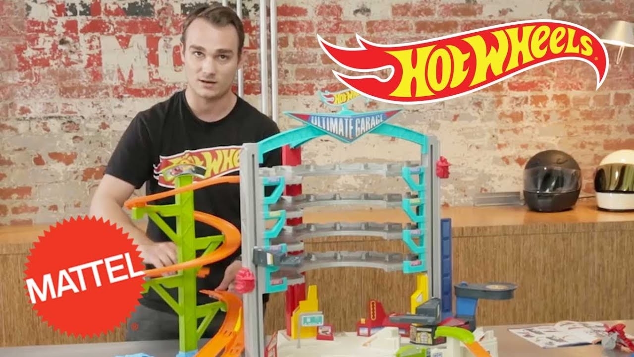 How To Build The Hot Wheels Ultimate Garage Hot Wheels Mattel